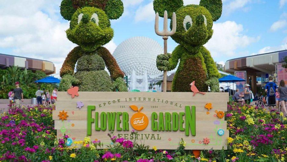 2018 Flower and Garden Outdoor Kitchens - WISH UPON AFAR - Disney ...